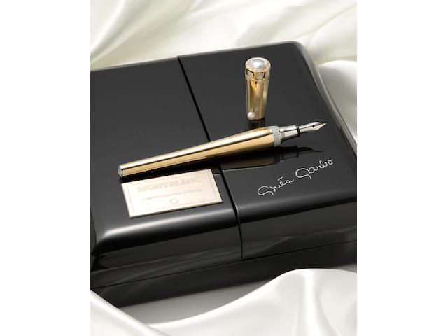 MONTBLANC: Greta Garbo Commemorative Limited Edition 100 Fountain Pen