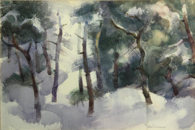 Barse Miller, Winter landscape