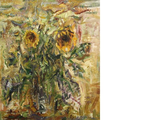 Yuri Gusev, Sunflowers, 1992