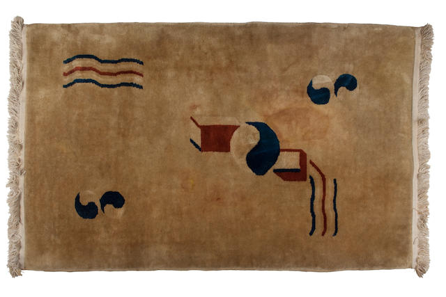 A Betty Joel wool rug manufactured in China, 1930s