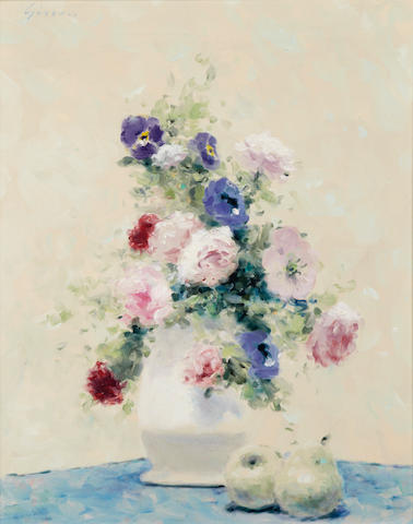 Gisson, Flowers in Vase