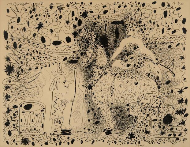 Pablo Picasso (Spanish, 1881-1973); L'Ecuyère;