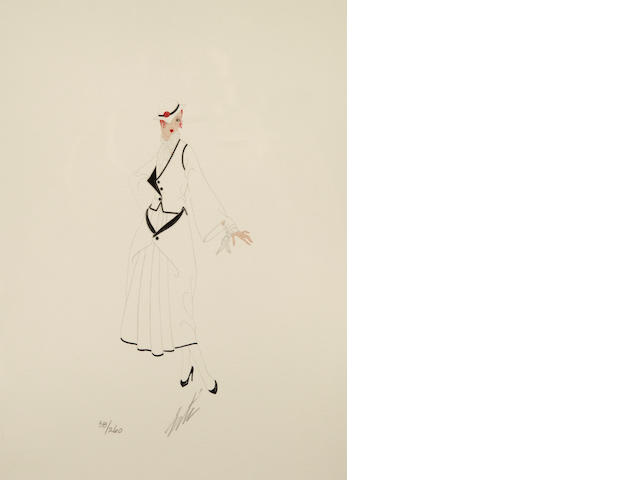 Erté (Romain de Tirtoff) (Russian, 1892-1990); Renee;