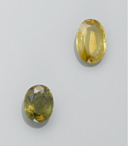Two Chrysoberyls