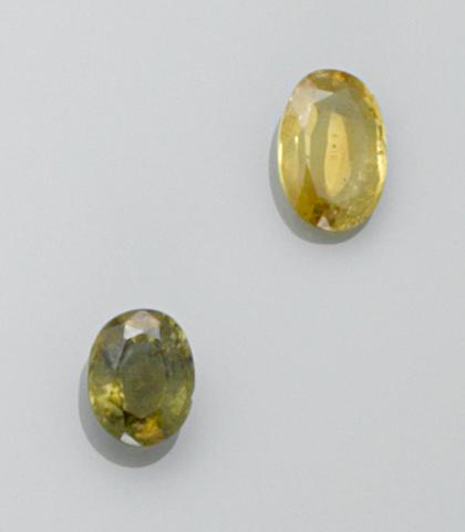 Two Chrysoberyls