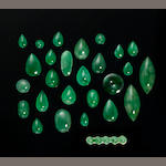 Group of Jade Cabochons
