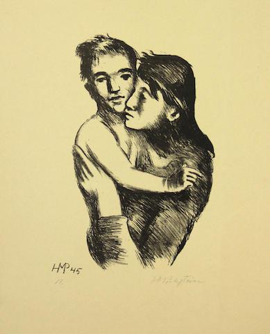 Max Pechstein (German, 1881-1955); Mutter und Sohn;