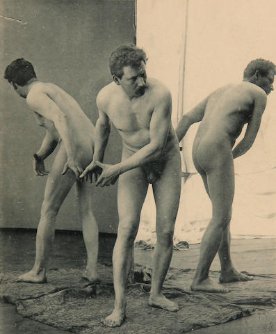 Max Koch (German, 1859-1930); Otto Rieth (German, 1858-1911) Pls. 1 & 16, from Der Act; (2)
