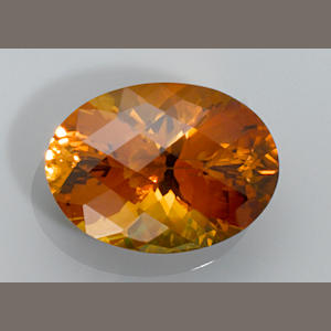 Citrine from an unusual locality