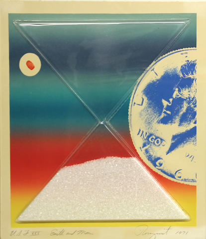 James Rosenquist (American, born 1933); Earth and Moon, from Cold Light Suite;