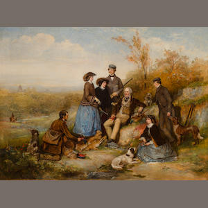 William Powell Frith, The Shooting Party