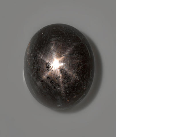 Black Star Sapphire--A Member of the 100 Carats Club