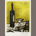 Bernard Buffet (French, 1928-1999); Le Pain et le Vin;