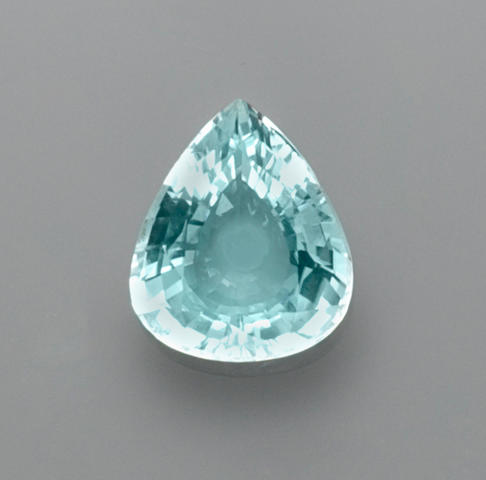 "Cuprian or ""Paraiba-type Tourmaline"""