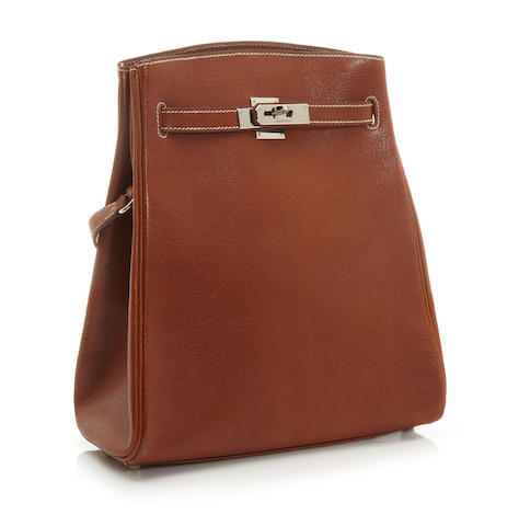 An Hermès tan leather Kelly Sport shoulder bag