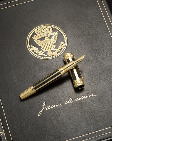 MONTBLANC: James Madison America's Signatures for Freedom Series Limited Edition 50 Fountain Pen