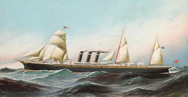SS City of Paris at Sea