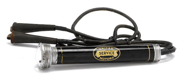 A United Service Motors timing light,