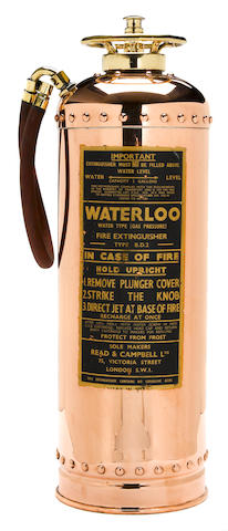 A Read & Campell Ltd. Waterloo fire exstiguisher,