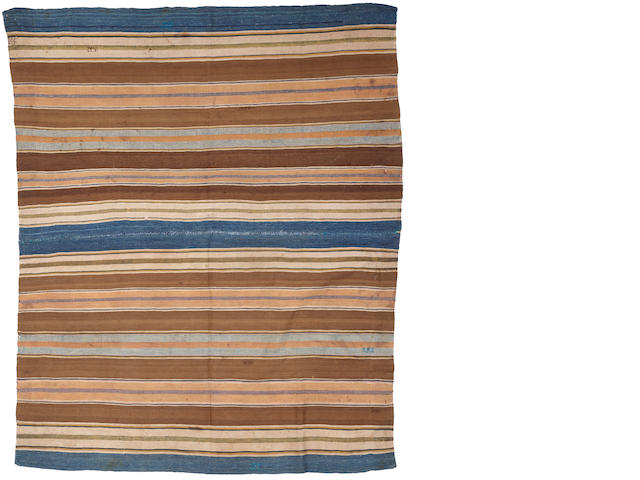A very rare 19th century Bolivian wearing blanket from Oruro