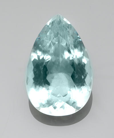 Large Aquamarine—A  Member of the 100 Carats Club