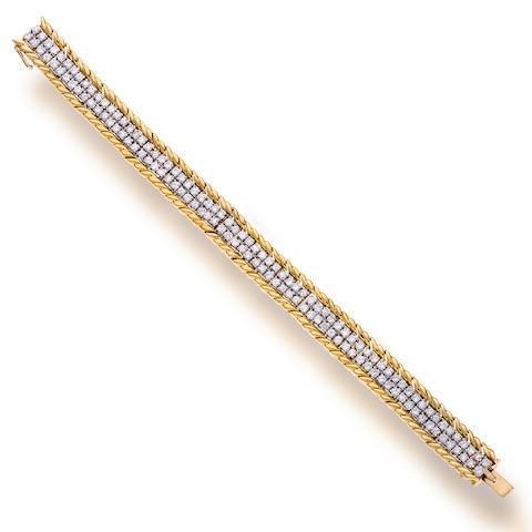 A diamond bracelet, Van Cleef & Arpels