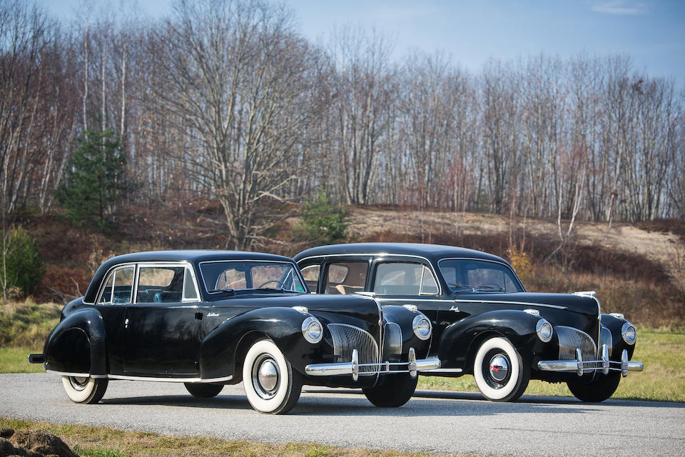 1941 Lincoln Continental Coupé  Chassis no. 16H57278 Engine no. H114613