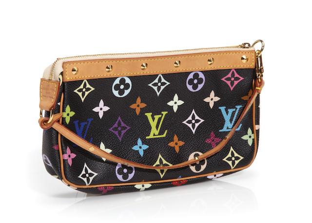 A Louis Vuitton multicolor monogram pochette