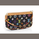 A Louis Vuitton multicolor monogram pochette