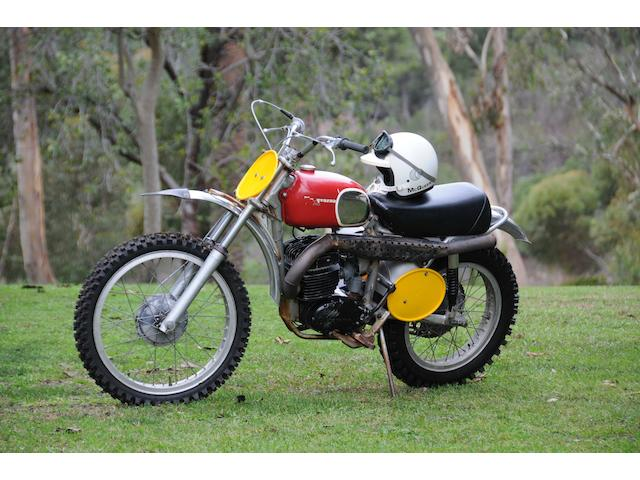 1970 Husqvarna 400 Cross owned and ridden by Steve McQueen