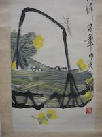 Qi Baishi (1863-1957) Vegatables and Insects