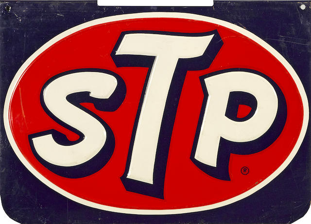 An STP sign,