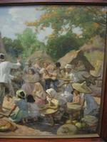 Fernando Amorsolo Y Cueto (1892-1972) The Tinikling Dance