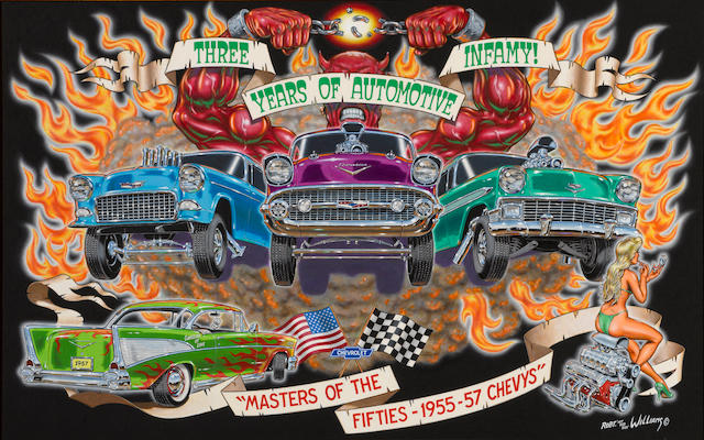 Robert Williams: Three Years of Automotive Infamy,