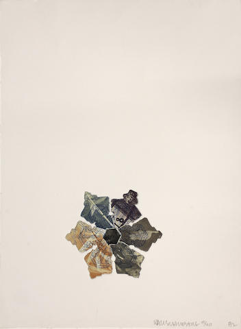 Robert Rauschenberg (American, 1925-2008); 400' and Rising,  from L.A. Flakes;