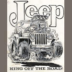 Roth Studios, 'Jeep, King Of The Road'