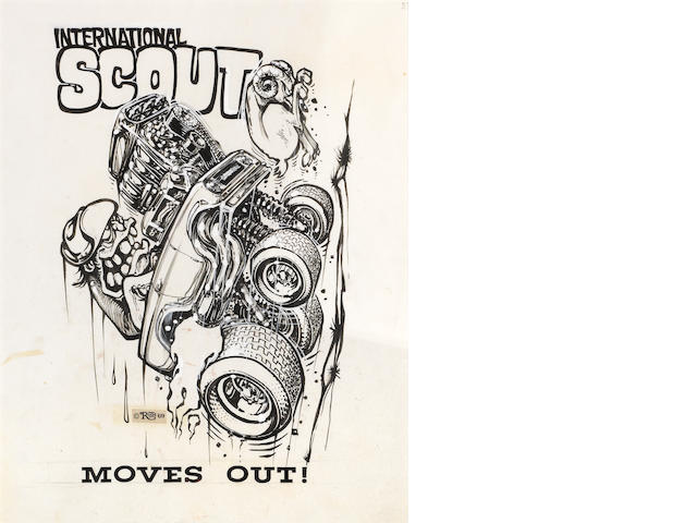 Roth Studios, 'International Scout, Moves Out!'