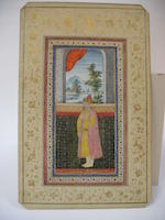 Two portraits of Mughal noblemen India, Late Mughal, late 18th century