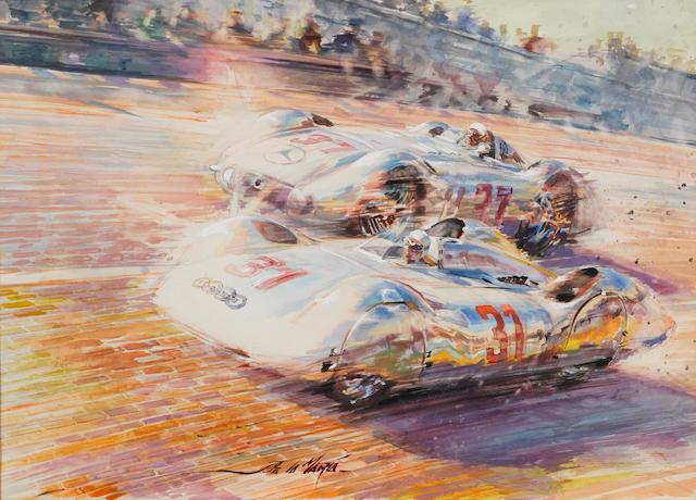 Alfredo De La Maria: Silver Arrows,