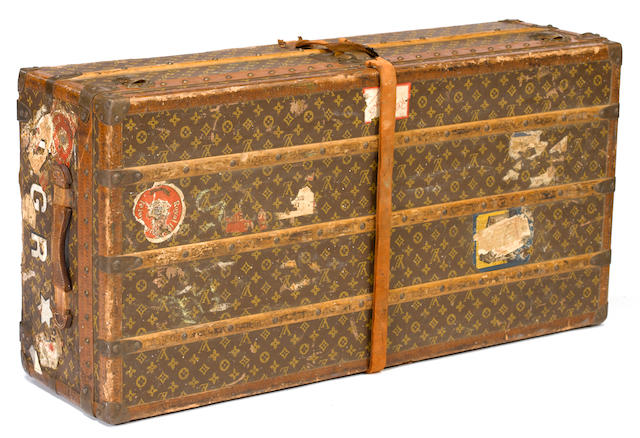 Louis Vuitton steamer trunk <BR /> late 19th/early 20th century