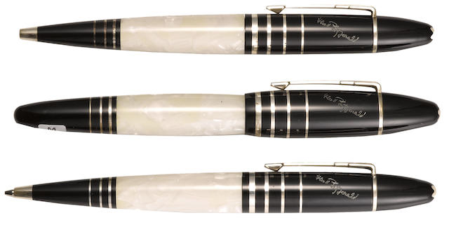 MONTBLANC: F. Scott Fitzgerald Writers Series Limited Edition 3-Piece Set