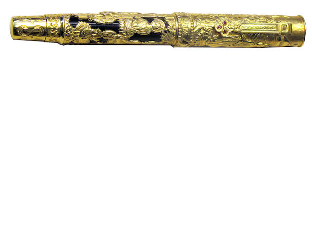 OMAS: Triratna 18K Gold Limited Edition 583 Fountain Pen