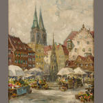 Constantine Kluge, Nuremberg City Center Flower Market