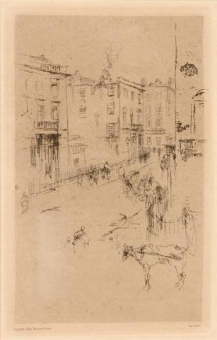 James Abbott McNeill Whistler (American, 1834-1903); Alderney Street;