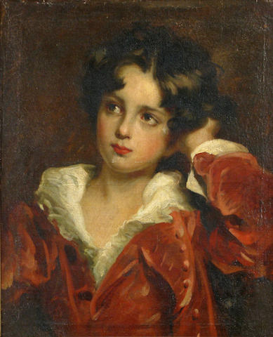 After Sir Thomas Lawrence, PRA Master Charles William Lambton 21 x 18in