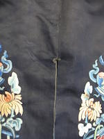 A Manchu woman's embroidered informal court surcoat 19th century