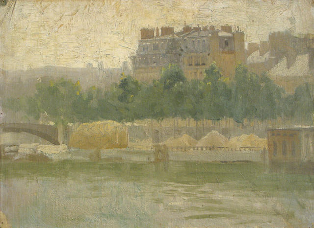 Paul Cornoyer, Paris, oil