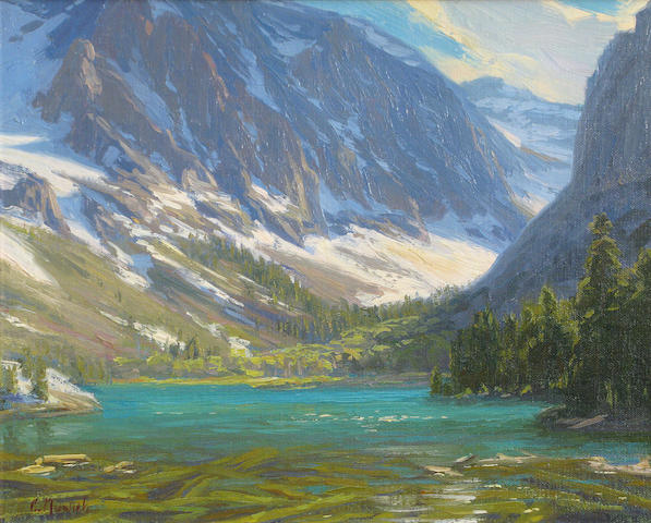 Charles Muench (American, born 1966) Parker Lake, California, 2002 10 x 12in