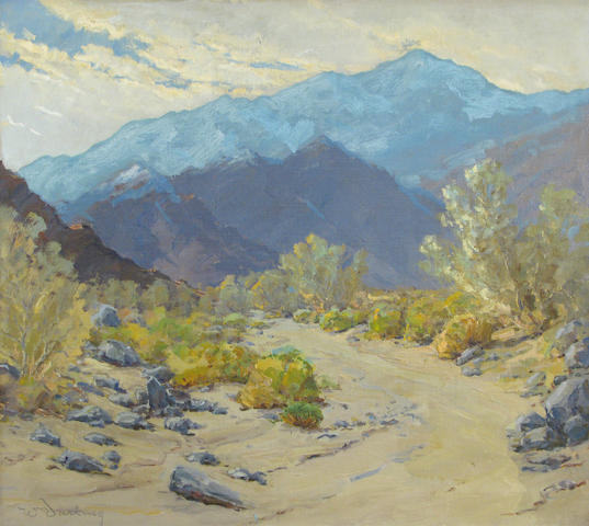 William S. Darling (American, 1882-1963) Morning in the canyon 25 x 30in