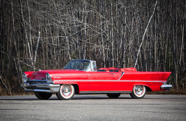From the estate of Eugene Beardslee,1957 Lincoln Premiere Convertible
